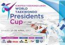Στους 2.182 αθλητές και αθλήτριες από 50 χώρες  «κλείδωσε» το 2nd WTF Presidents Cup – Europe