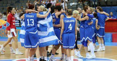 Έτσι γιόρτασαν τα κορίτσια τον θρίαμβο στο Eurobasket