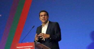 Τσίπρας: Είμαστε εδώ για να κινήσουμε προς τα μπρός το τροχό της ιστορίας