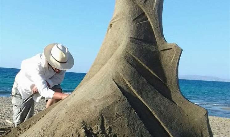 Η Αμμουδάρα προβάλλεται σε όλο τον κόσμο μέσα από το 3ο Φεστιβάλ Γλυπτικής στην άμμο