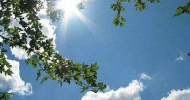 Γενικά αίθριος ο καιρός με τοπικές βροχές την Τρίτη