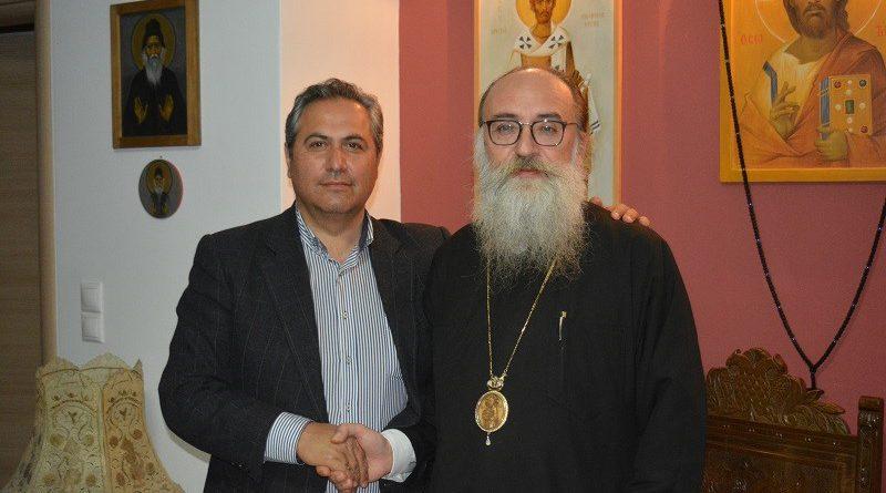 Ο Νίκος Σκουλάς επισκέφθηκε τον Σεβασμιότατο Μητροπολίτη Γορτύνης και Αρκαδίας κ.κ. Μακάριο