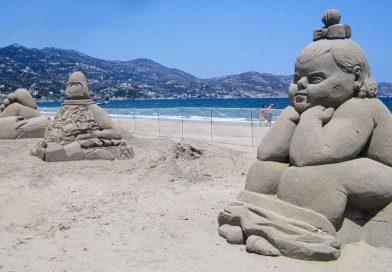 Η Αμμουδάρα πανέτοιμη για το 4ο Φεστιβάλ Γλυπτικής στην άμμο – 1η Ιουνίου η έναρξή του