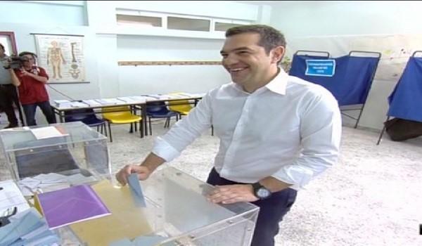 Εκλογές 2019: Ψήφισε ο Αλέξης Τσίπρας – Είναι μέρα ευθύνης των πολλών
