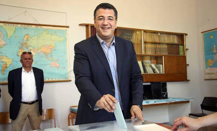 Στον Δήμο Δέλτα ψήφισε ο Απόστολος Τζιτζικώστας για την Περιφέρεια Κεντρικής Μακεδονίας