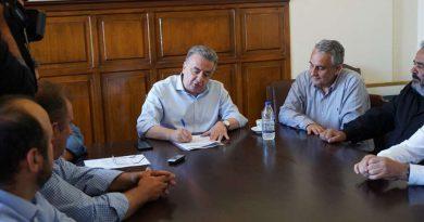 Υπογράφηκε από τον Περιφερειάρχη Κρήτης το οδικό έργο Πλάτανος – Σφηνάρι Χανίων προϋπολογισμού 20 εκ. ευρώ